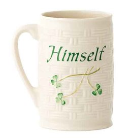 TEAPOTS, MUGS & ACCESSORIES BELLEEK HIMSELF MUG