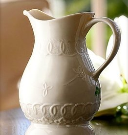 LIMITED EDITION BELLEEK CELTIC LACE PITCHER EVENT PIECE