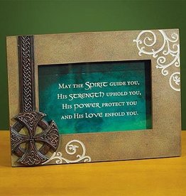 FRAME IRISH CROSS PHOTO FRAME