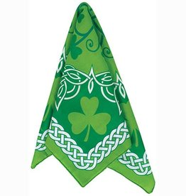 NOVELTY SHAMROCK & CELTIC KNOT BANDANA