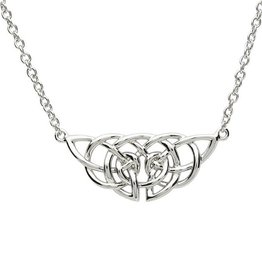 PENDANTS & NECKLACES PlatinumWare INTRICATE CELTIC DESIGN NECKLET
