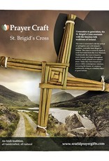 RELIGIOUS REED ORIGINAL CARDED ST. BRIGID CROSS - 9.5""