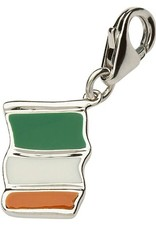 CHARMS CLEARANCE - TARA'S DIARY STERLING FLAG CHARM - FINAL SALE