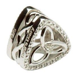 BEADS TARA'S DIARY DIAMOND TRINITY KNOT TRIANGLE BEAD