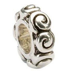 BEADS CLEARANCE - TARA'S DIARY SPIRAL SPACER BEAD - FINAL SALE