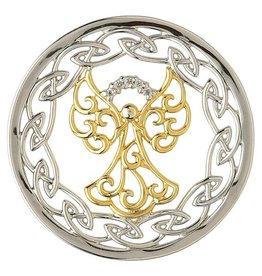 PENDANTS & NECKLACES CLEARANCE - STERLING SILVER EXPRESSIONS CELTIC ANGEL COIN - FINAL SALE