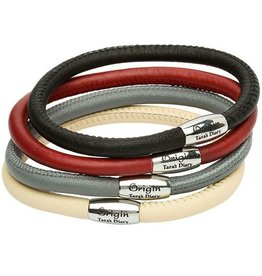 BRACELETS & BANGLES CLEARANCE - ORIGINS SINGLE LEATHER BRACELET - FINAL SALE