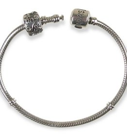 BEADS CLEARANCE - TARA'S DIARY BRACELET WITH STOPPER BEAD - FINAL SALE