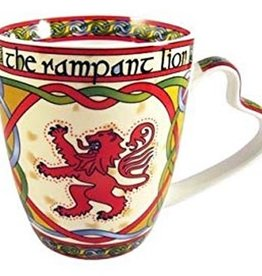 KITCHEN & ACCESSORIES CELTIC WEAVE 'SCOTTISH RAMPANT LION' MUG