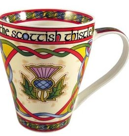 KITCHEN & ACCESSORIES CELTIC WEAVE 'SCOTTISH CELTIC THISTLE' MUG