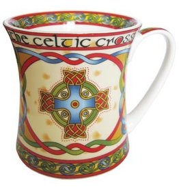 KITCHEN & ACCESSORIES CELTIC WEAVE 'SCOTTISH CELTIC CROSS' MUG