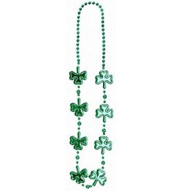 ST PATRICK'S DAY NOVELTY BIG SHAMROCK NECKLACE