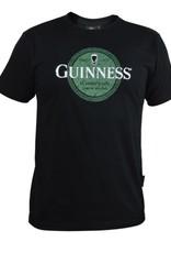 SHIRTS BLACK GUINNESS GREEN CELTIC LABEL SHIRT