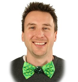 ST PATRICK'S DAY NOVELTY LIGHT UP BOWTIE