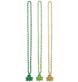 ST PATRICK'S DAY NOVELTY ST. PATS TRIPLE LUCKY NECKLACE