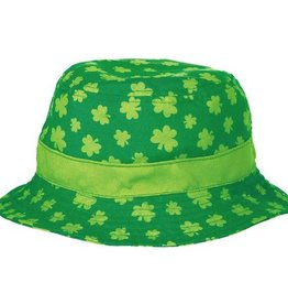 ST PATRICK'S DAY NOVELTY SHAMROCK BUCKET HAT