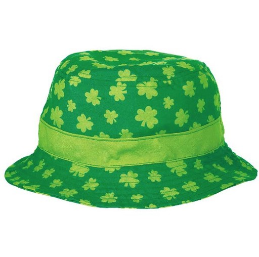 ST PATRICK'S DAY NOVELTY SHAMROCK BUCKET HAT