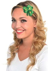 ST PATRICK'S DAY NOVELTY SHAMROCK HAIRBAND