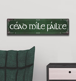 "PLAQUES, SIGNS & POSTERS ""CEAD MILE FAILTE"" WALL SIGN"