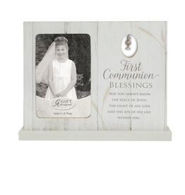 RELIGIOUS FIRST COMMUNION FRAME with CHALICE CHARM
