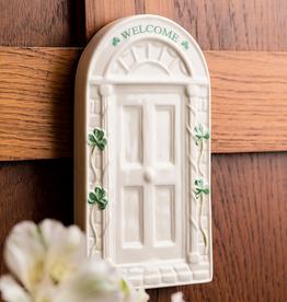DECOR BELLEEK WELCOME DOOR WALL PLAQUE