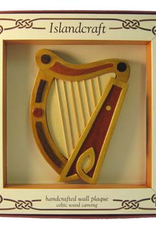 DECOR WOOD HARP WALL HANGING