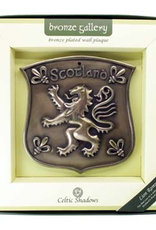 PLAQUES & GIFTS CELTIC BRONZE GALLERY WALL PLAQUE - SCOTLAND