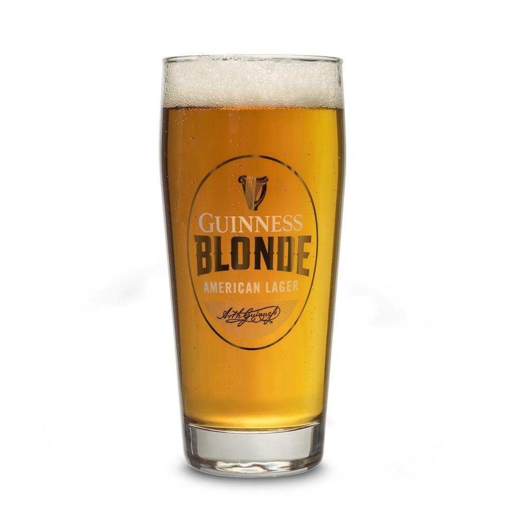 BARWARE GUINNESS BLONDE PINT GLASS