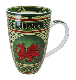 KITCHEN & ACCESSORIES WELSH WINDOW 'DRAGON' MUG