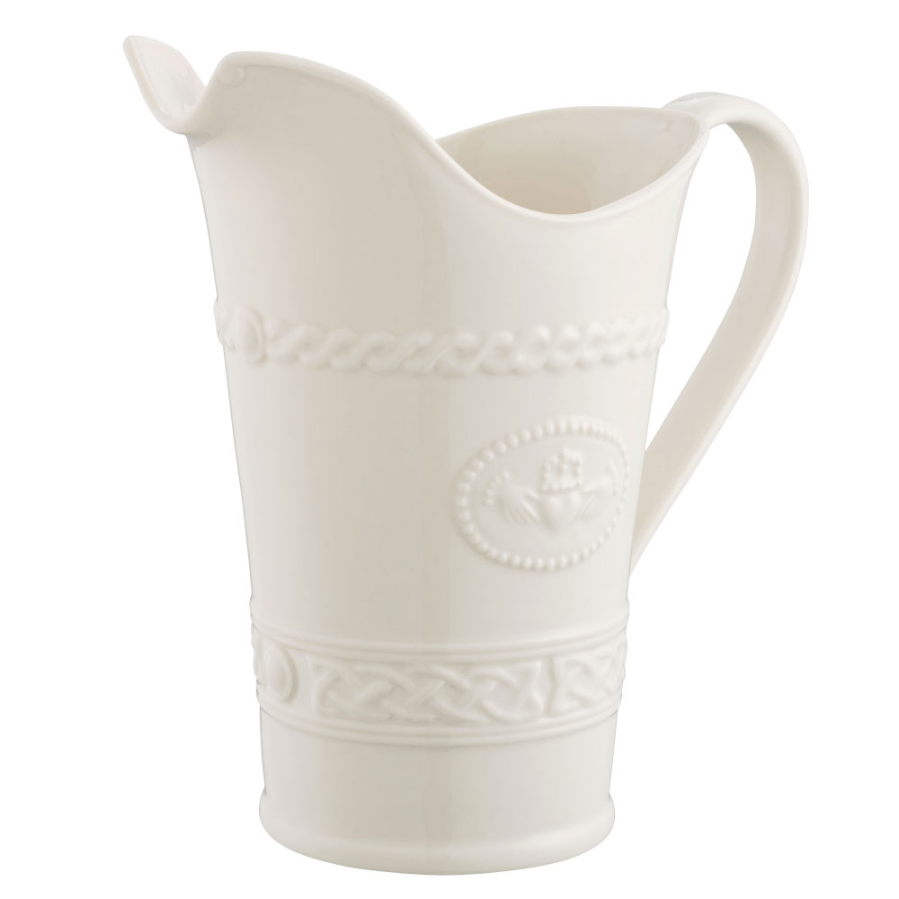 KITCHEN & ACCESSORIES BELLEEK CLADDAGH PITCHER