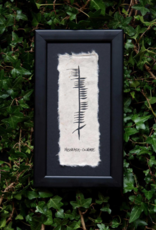 PLAQUES, SIGNS & POSTERS OGHAM WISHES PLAQUE - 11X6