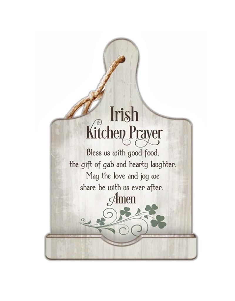 KITCHEN & ACCESSORIES IRISH KITCHEN PRAYER COOKBOOK HOLDER