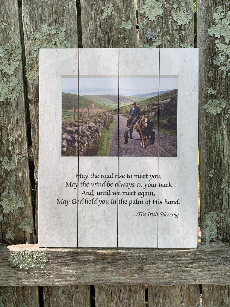 """PLAQUES & GIFTS """"IRISH BLESSING"""" PALLET ART"""