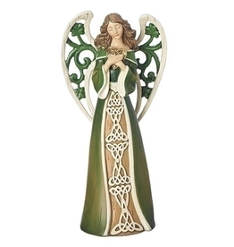 ANGELS IRISH ANGEL with SHAMROCK WINGS
