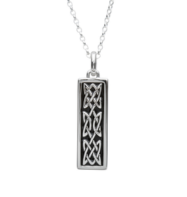 "PENDANTS & NECKLACES FADO STERLING ""AN RI"" CELTIC MEDIUM PENDANT"