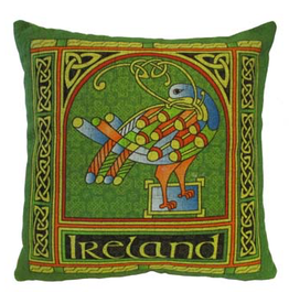 TAPESTRIES, THROWS, ETC. CELTIC WEAVE 18x18 PILLOW - Celtic Peacock