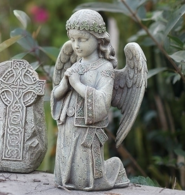 GARDEN KNEELING CELTIC GARDEN ANGEL