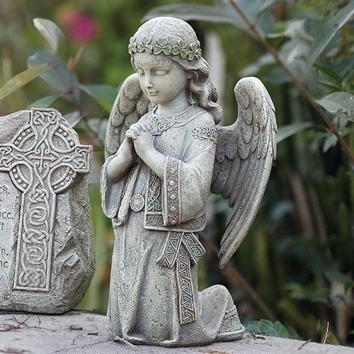 GARDEN KNEELING CELTIC GARDEN ANGEL