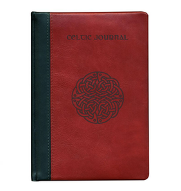 MISC NOVELTY CELTIC JOURNAL - Red Calf Leather