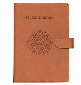 MISC NOVELTY WIRE BOUND CELTIC JOURNAL - Magnetic Closure