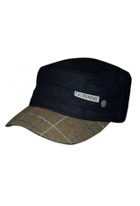 ACCESSORIES GUINNESS BLACK TWEED PEAK CADET CAP