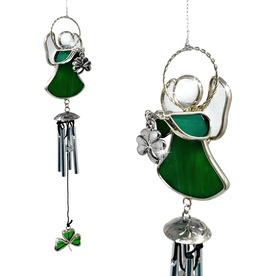 ORNAMENTS IRISH ANGEL WINDCHIME ORNAMENT