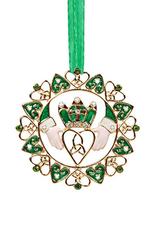 ORNAMENTS IRISH CLADDAGH ORNAMENT