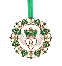 ORNAMENTS IRISH CLADDAGH ORNAMENT