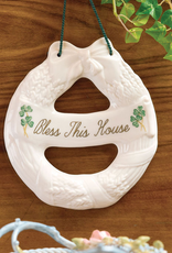 DECOR BELLEEK BLESSING WREATH