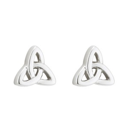 EARRINGS ACARA SILVER TRINITY STUD EARRINGS