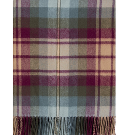 TAPESTRIES, THROWS, ETC. LOCHCARRON LAMBSWOOL LAP BLANKET - AULD SCOTTLAND