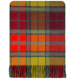TAPESTRIES, THROWS, ETC. LOCHCARRON LAMBSWOOL LAP BLANKET - BUCHANNAN BERRY