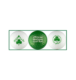 NOVELTY IRISH GOLF BALLS - 3 PACK