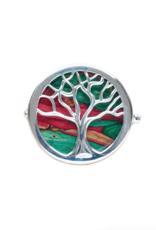 PINS & BROACHES HEATHERGEM TREE OF LIFE BROOCH